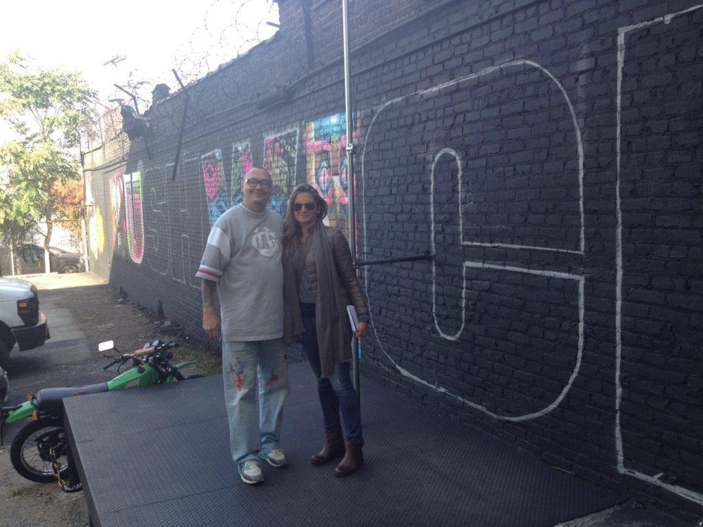 Con Zimad, street artist del Queens