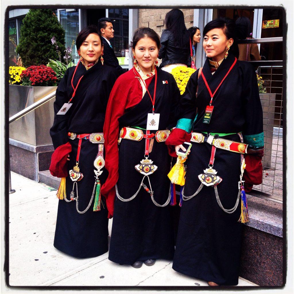 Scatti dalla comunità tibetana di New York