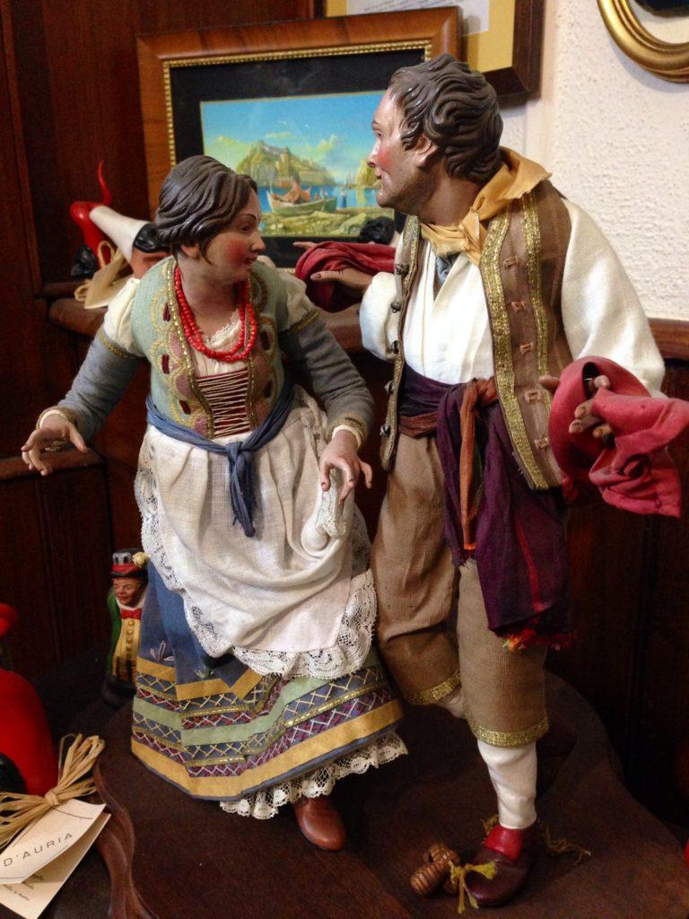 I danzatori di tarantella, Napoli, Presepi D'Auria