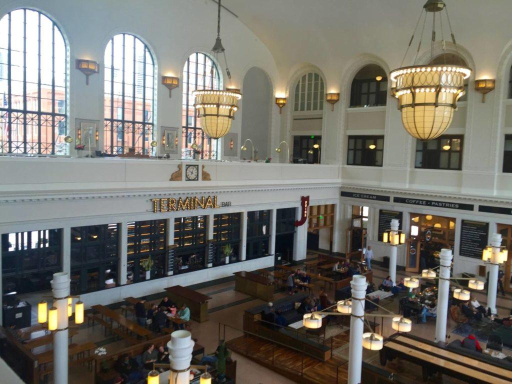 Discover Denver: Union Station, the inside