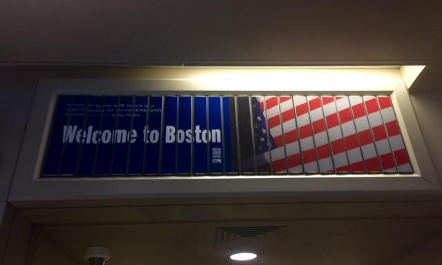 Ingresso negli Stati Uniti, benvenuti a Boston