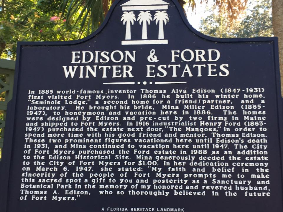 itinerari di viaggio in Florida: Edison & Ford Winter Estates a Fort Myers