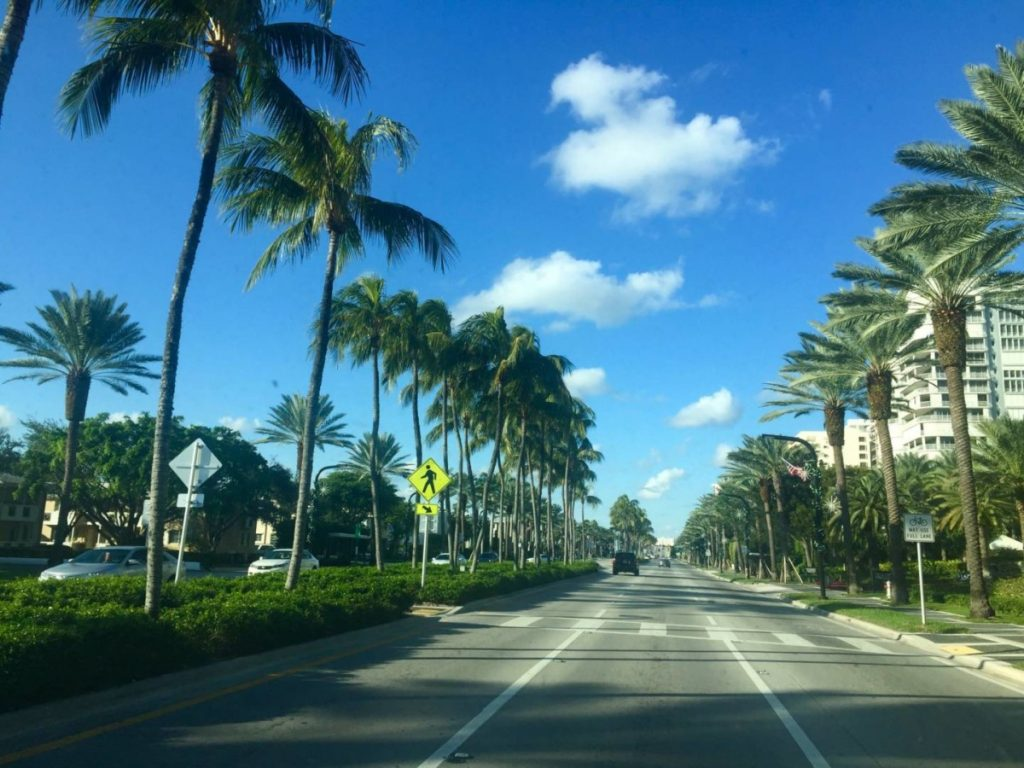 Itinerari di viaggio in Florida, on the road