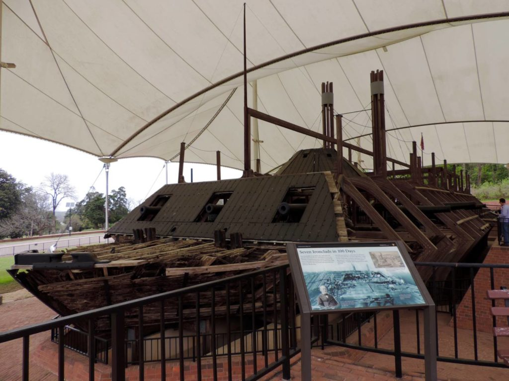 Vicksburg National Military Park, the USS Cairo