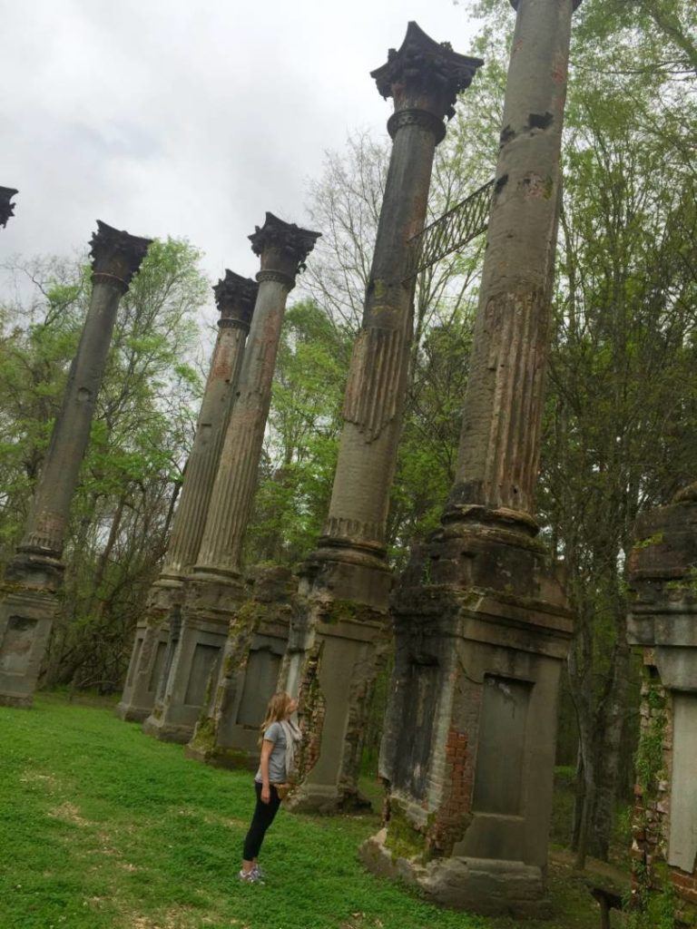 Itineraries in Mississippi, Windsor Ruins