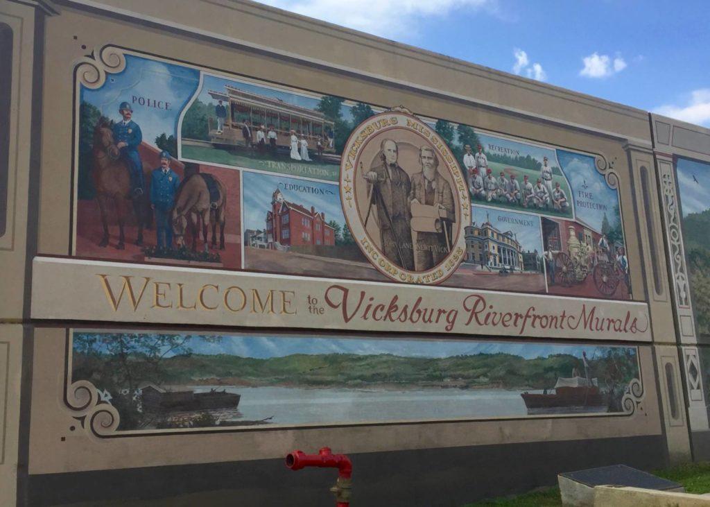 Vicksburg, murales