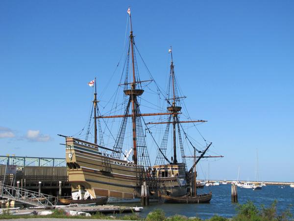 La nave Mayflower