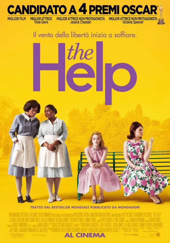 La locandina di The Help, imperdibile bestseller e poi film ambientato nel vecchio Sud