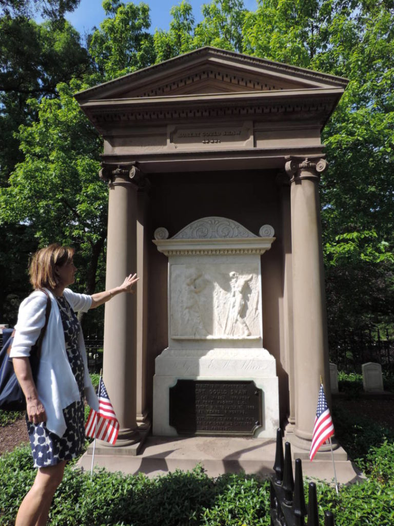 My special guided tour to Mount Auburn Cemetery