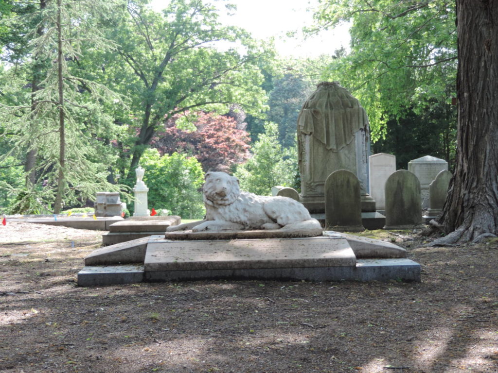 Unusual Boston: Mount Auburn Cemetery and its original graves
