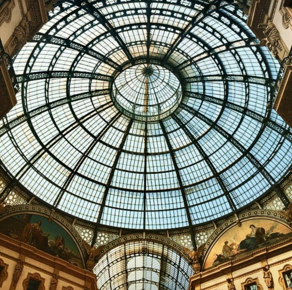 Milano insolita: Galleria Vittorio Emanuele, geometrie