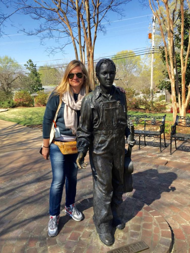 Things to do in Mississippi: Elvis and the Walk of Life (and me)