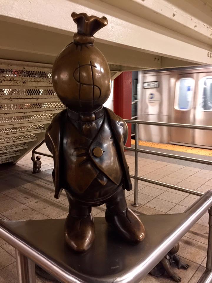 Unusual New York: Mr Moneybags