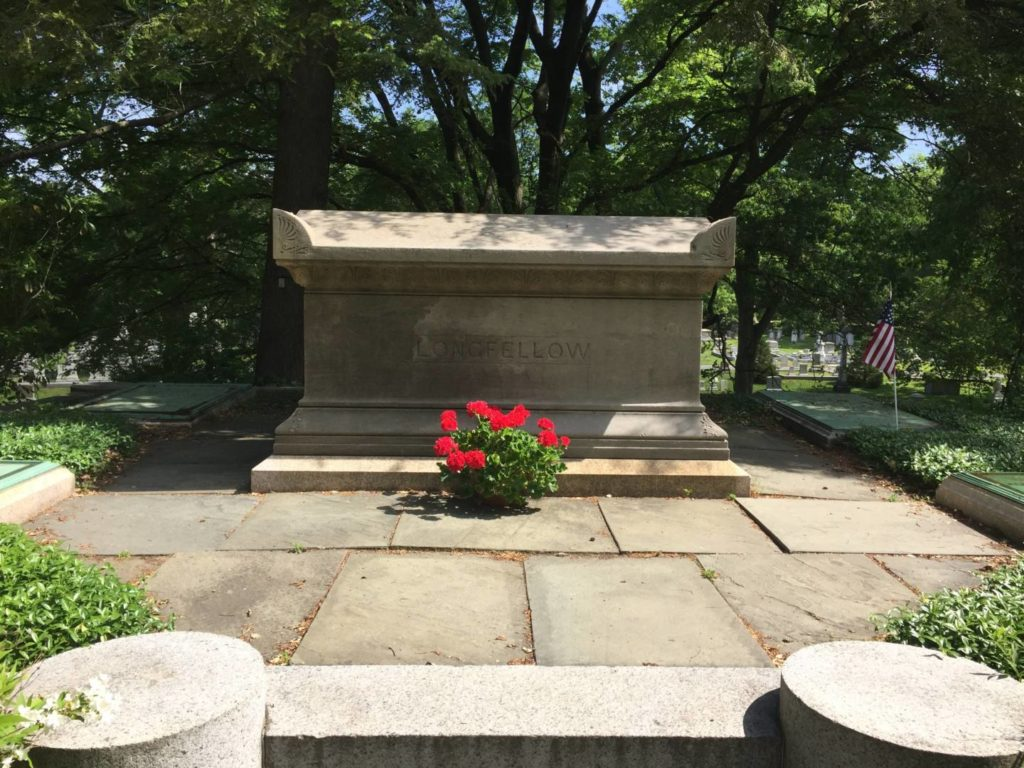 Unusual Boston: Henry Longfellow grave