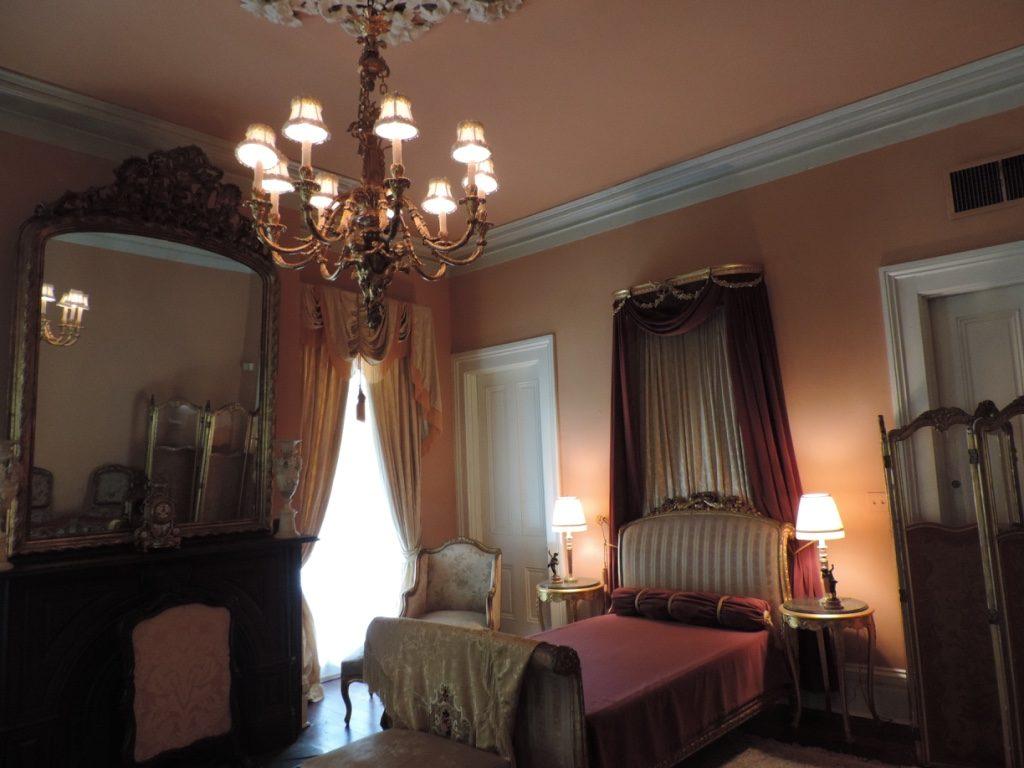 Myrtles Plantation, una delle camere da letto della dimora padronale