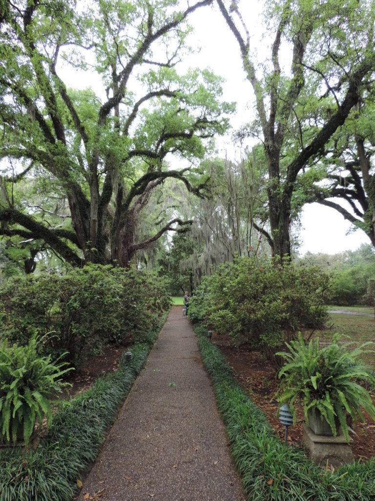 Myrtles Plantation, scorci del giardino