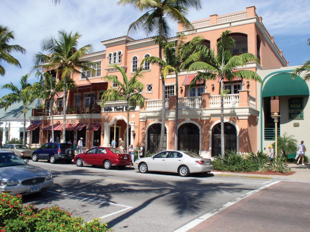 Itinerari di viaggio in Florida: Naples, la 5th Ave