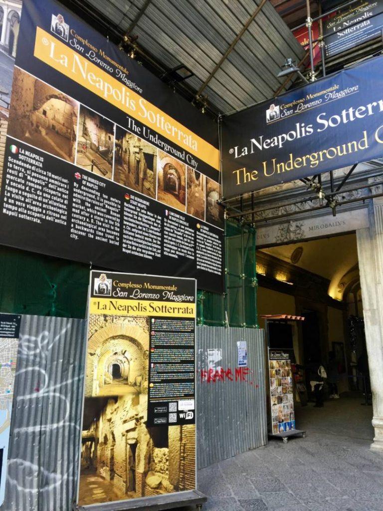 Napoli da non perdere: l'ingresso al Complesso museale di San Lorenzo Maggiore