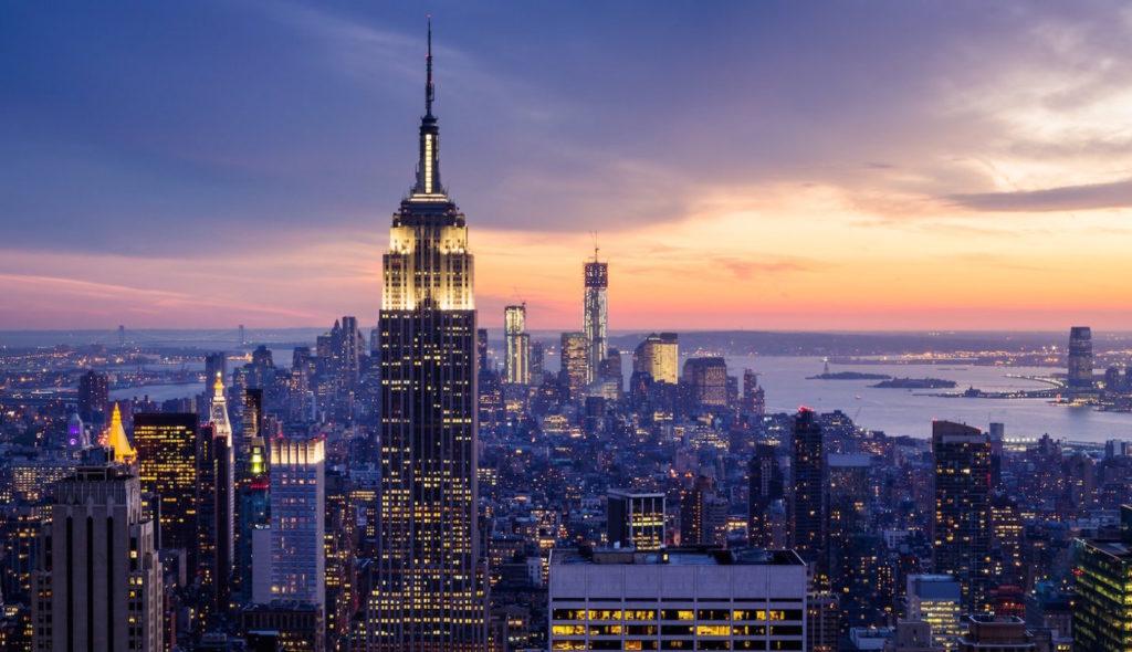 Natale a New York: la magnifica vista dall'osservatorio Top of the Rock