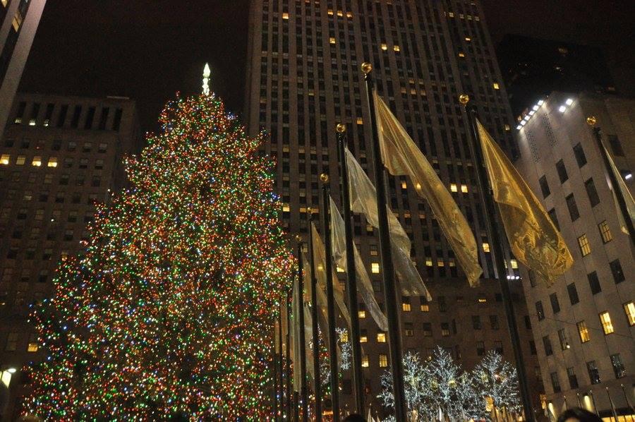 Natale a New York: l'albero del Rockefeller Center
