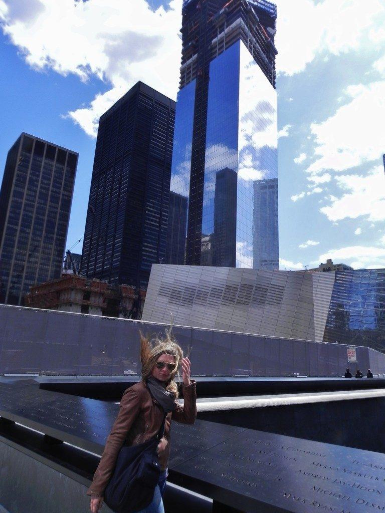 National September 11 Memorial Museum: my previous tour to Ground Zero, South Pool