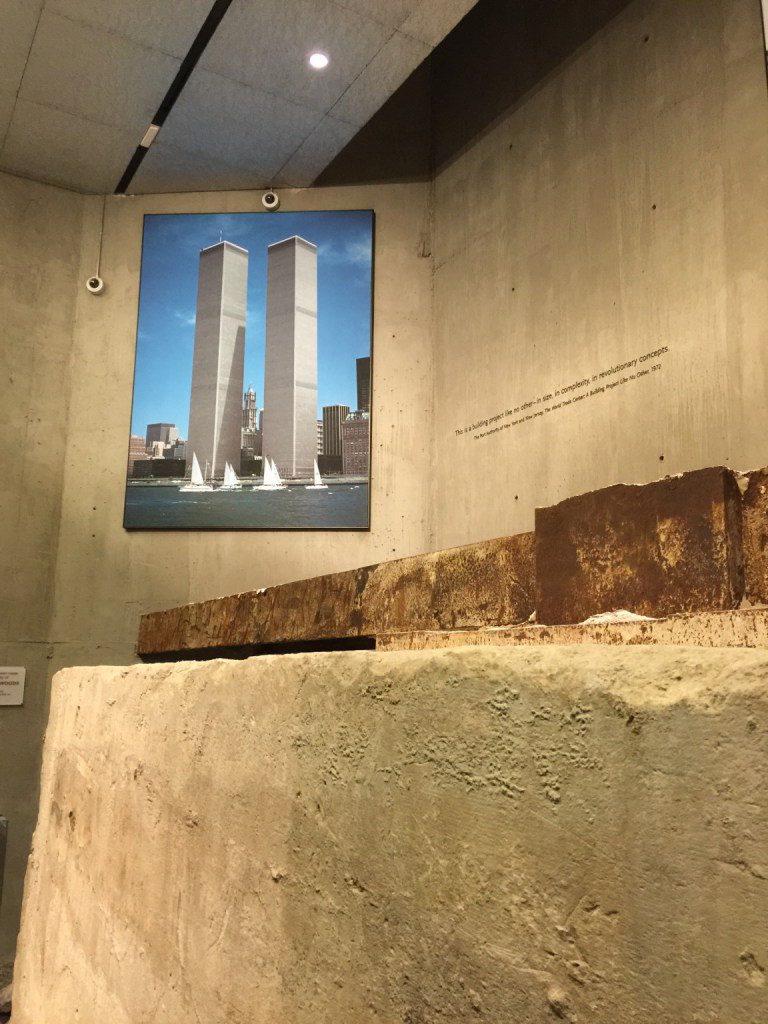 Nelle fondamenta della Torre Sud