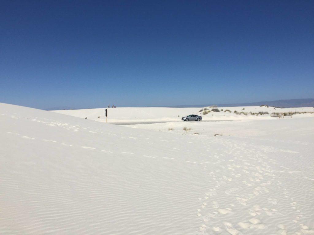 La Dunes Drive vista dalle dune