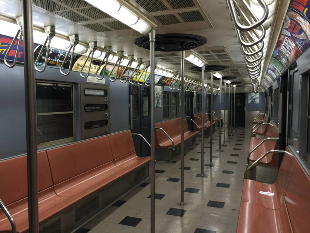 Ny Transit Museum, car of the 1950s