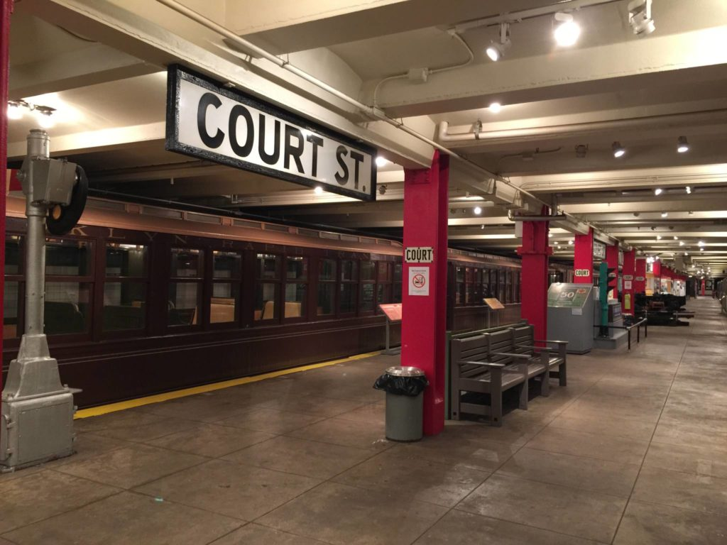 Ny Transit Museum, Court St.