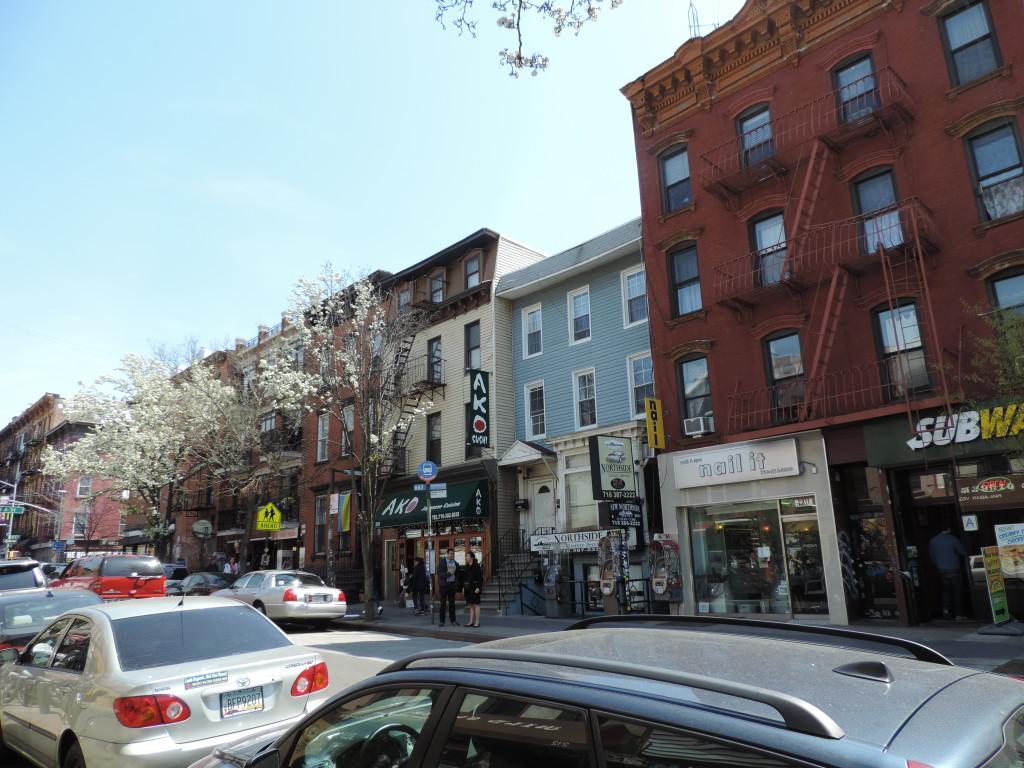 Passeggiando per Williamsburg, Brooklyn