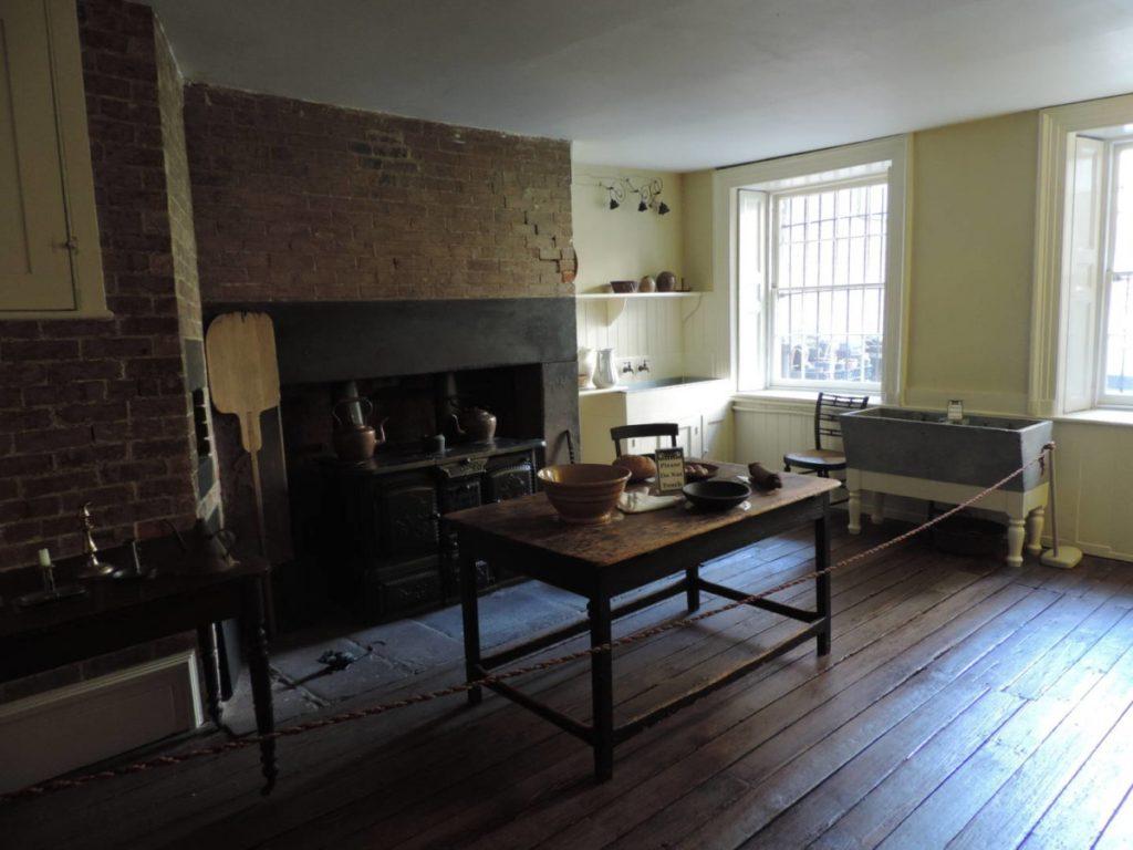 New York segreta: la Merchant's House, la cucina