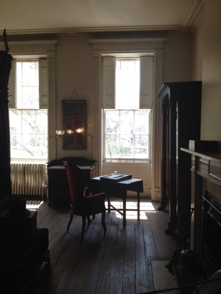 Secret New York: the Merchant's House, one of the private rooms at the third floor