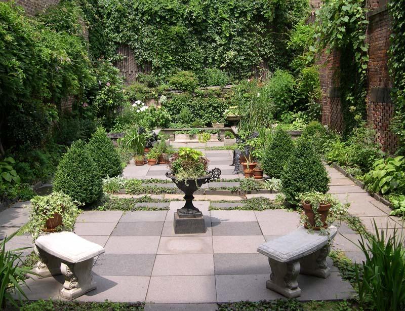 New York segreta: il giardino privato della Merchant's House
