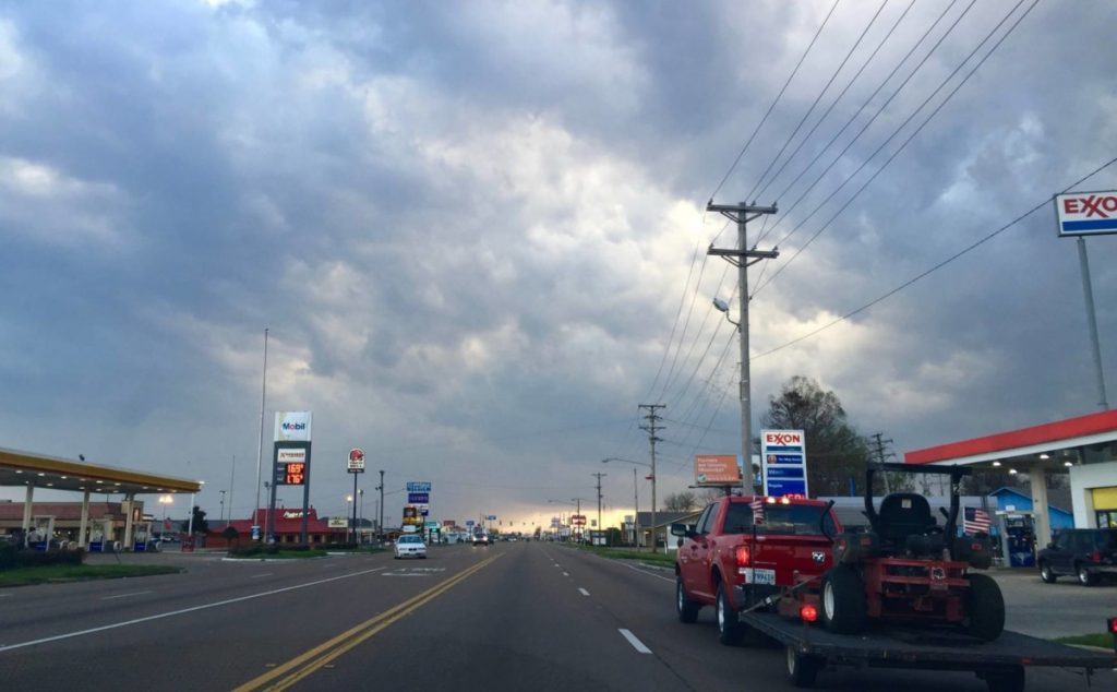 Noleggio auto USA: Mississippi on the road