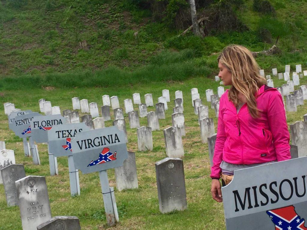 On the road nel Sud USA: campo di battaglia di Vicksburg, cimitero dei confederati