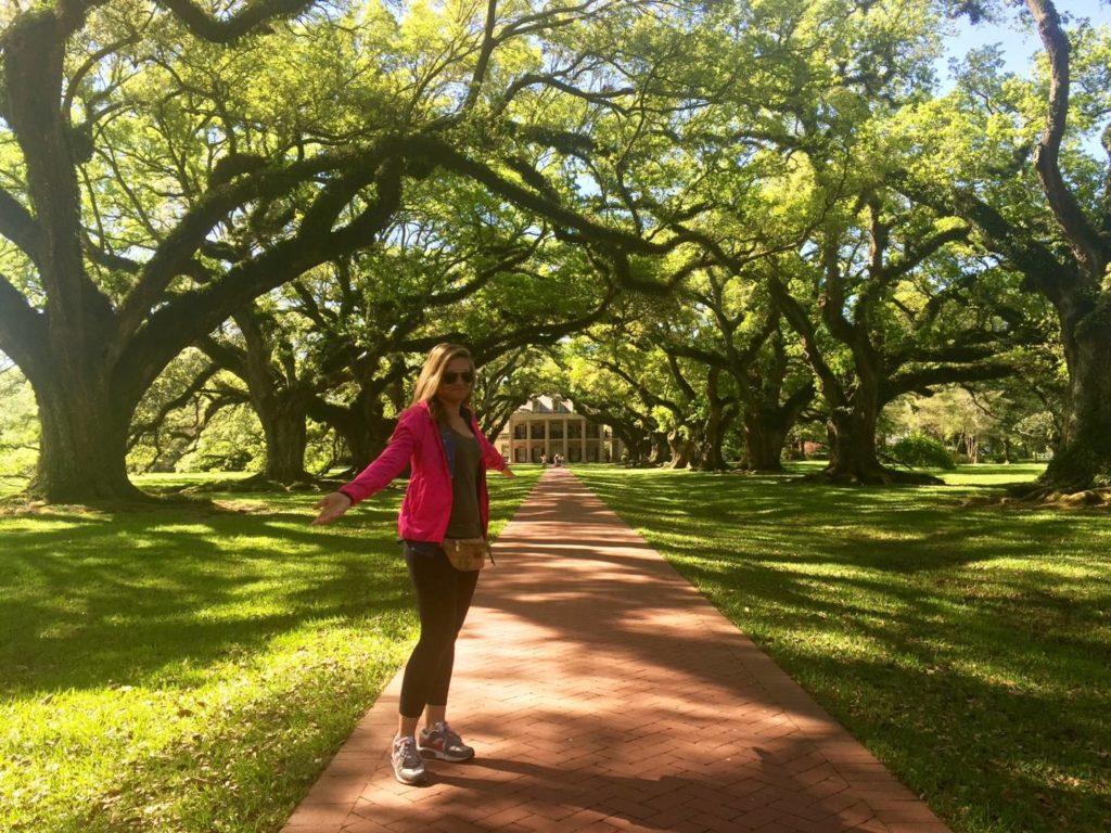 On the road nel Sud USA: Oak Alley Plantation, Louisiana