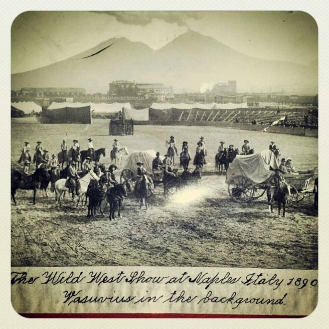 Storie e leggende napoletane: Il Wild West Show a Napoli