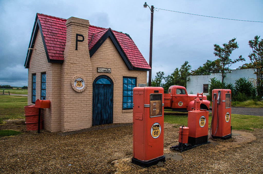 Phillips 66 Service Station, McLean (Texas)