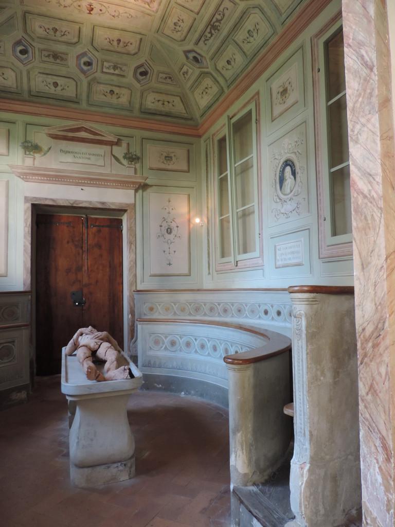 Antica Sala Anatomica dell'Ospedale del Ceppo, metà 1600