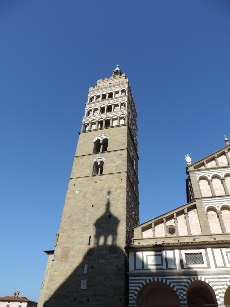 L'Ombra del Battistero riflessa su San Zeno ed il suo Campanile