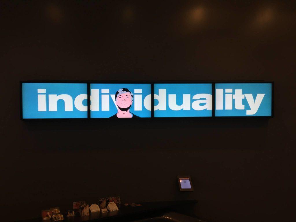 Andy Warhol, Individuality