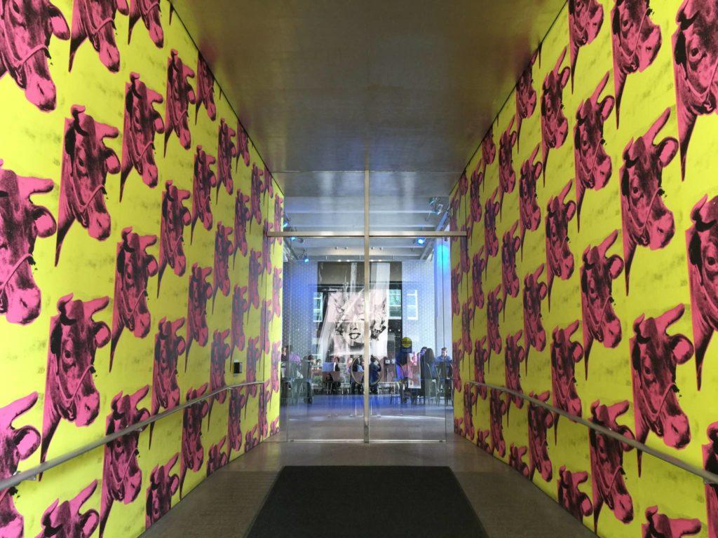 Andy Warhol Museum, l'ingresso