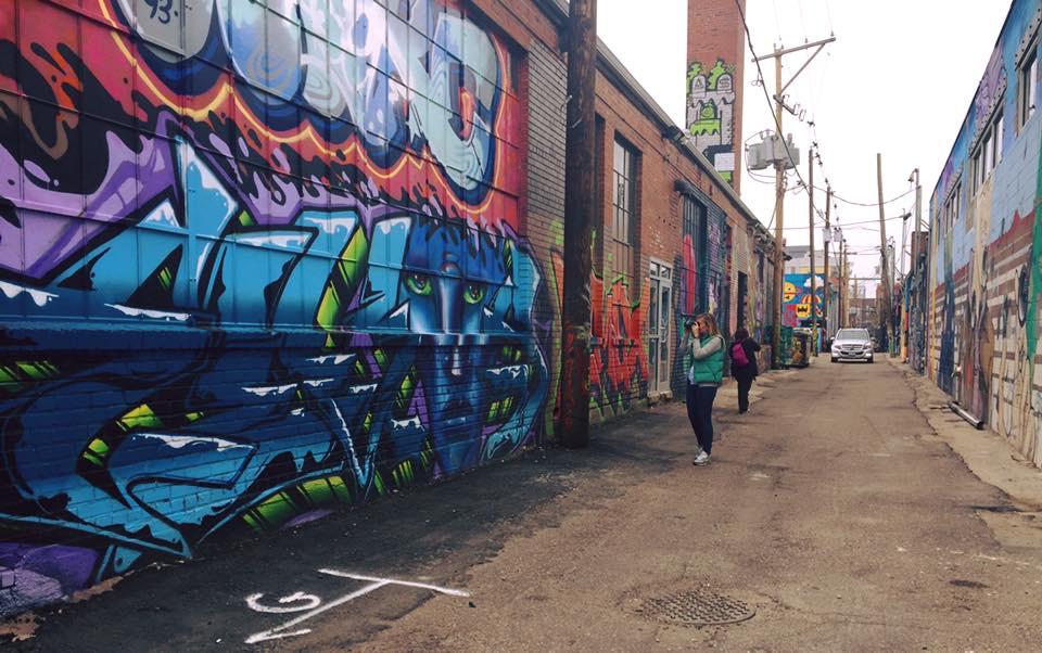 Cosa vedere a Denver: street art in RiNo