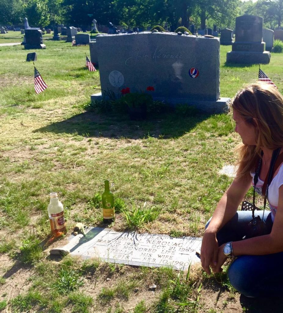 Discover Lowell: Edson Cemetery, Kerouac's grave and the new tombstone behind