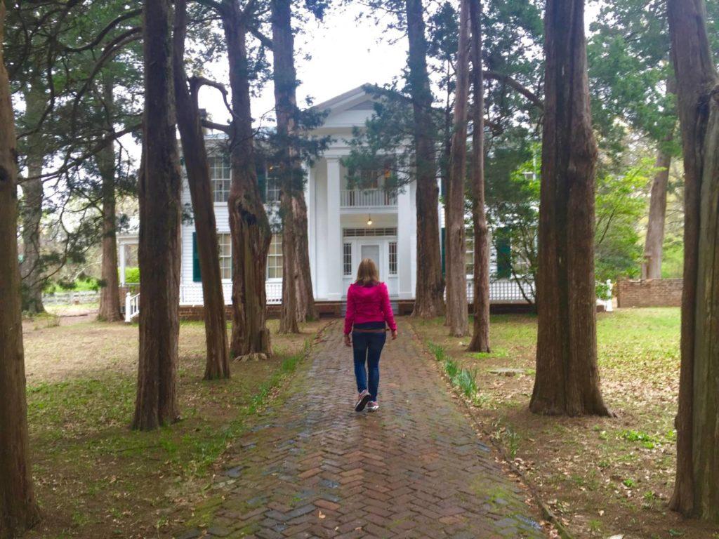 Discovering Oxford: Rowan Oak, the outside