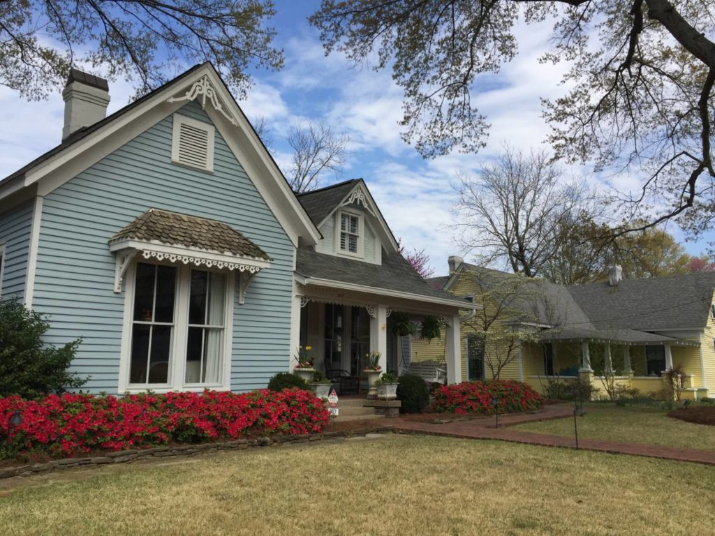 Discovering Oxford: Jackson Ave houses