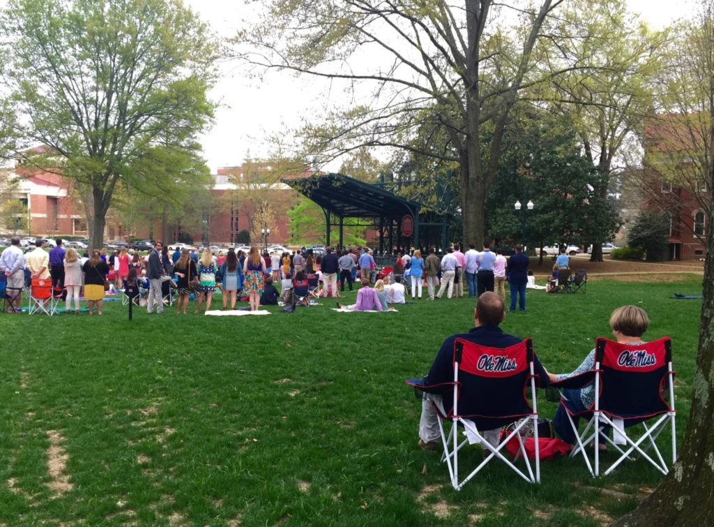 Discovering Oxford: Easter Mass at the Ole Miss