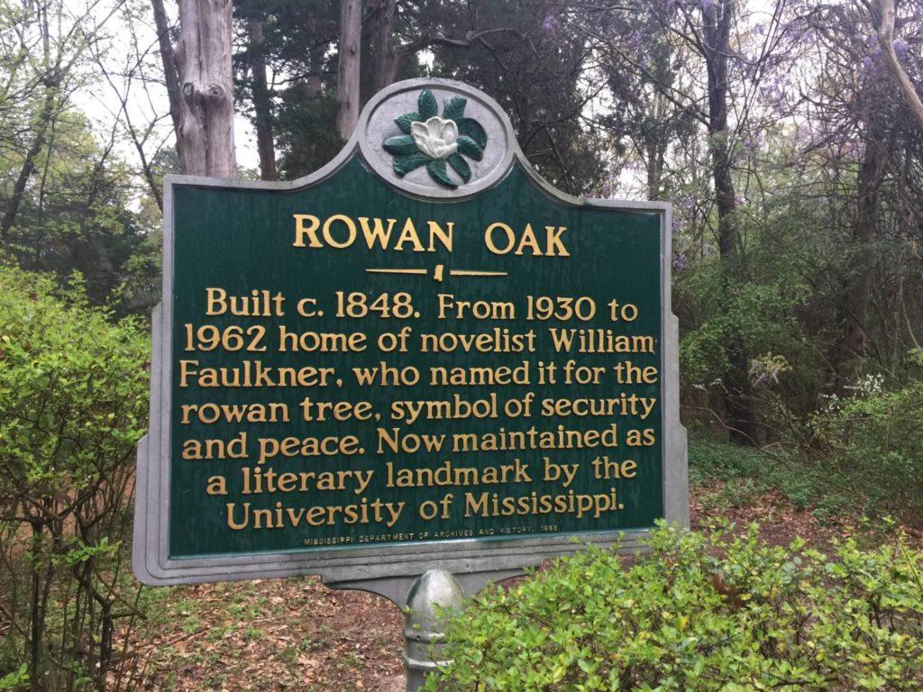 Discovering Oxford: Rowan Oak