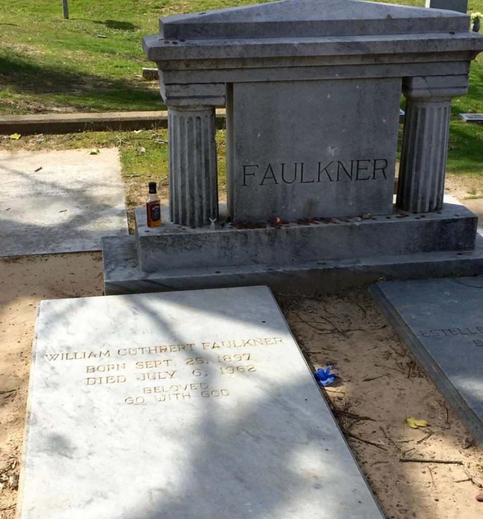 Discovering Oxford: William Faulkner's grave