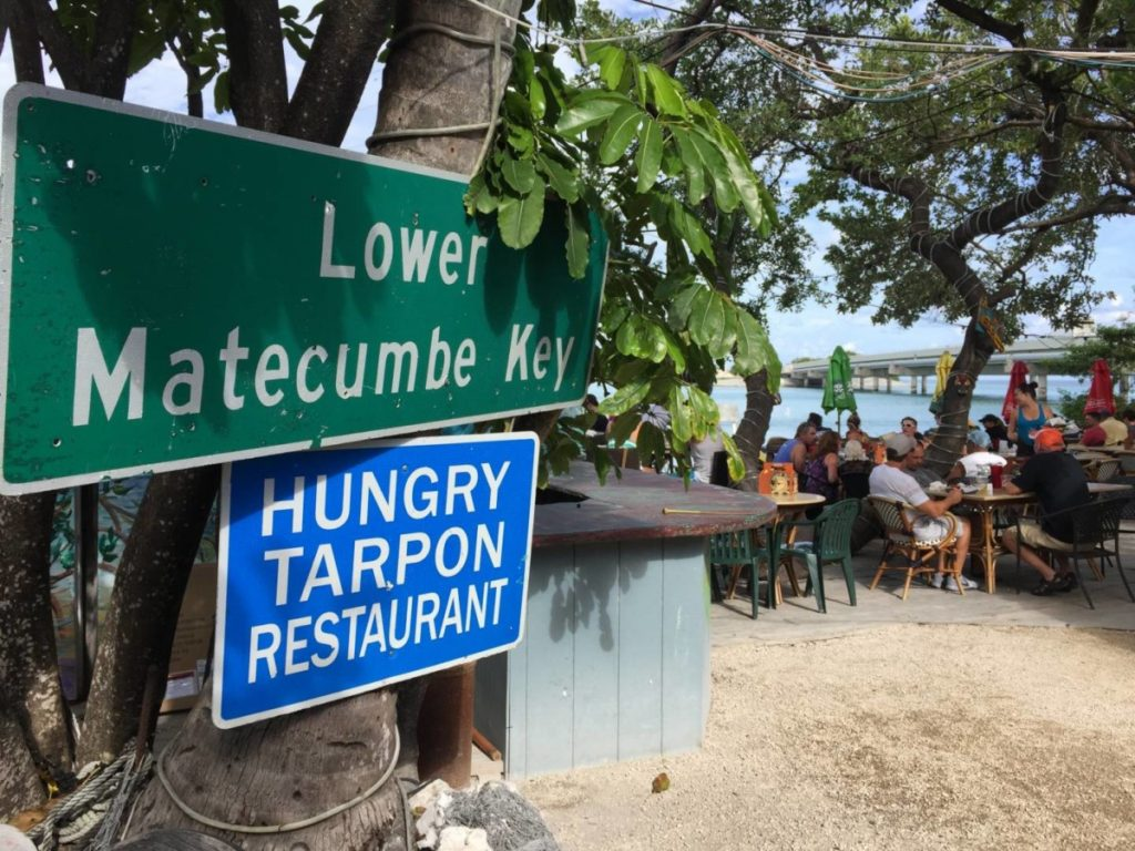 Lunch at the Hungry Tarpon Restaurant